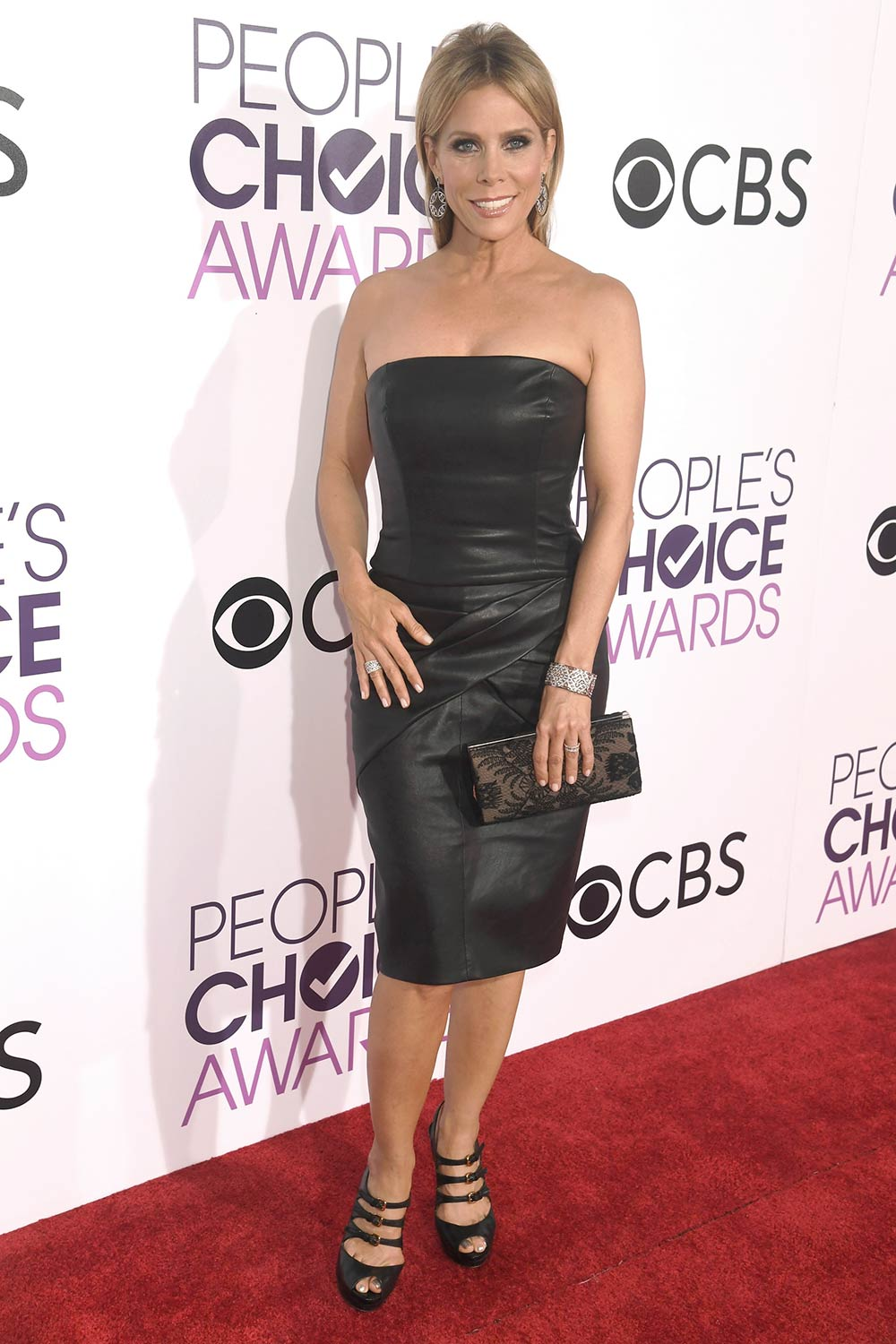 Cheryl Hines attends the People's Choice Awards 2017