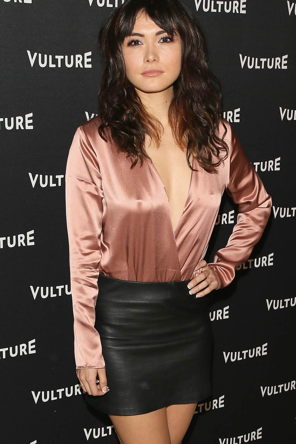 Daniella Pineda arrives at the Vulture Awards Season Party