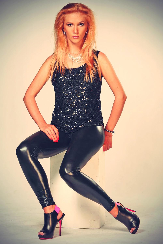 Adela Popescu leather mix