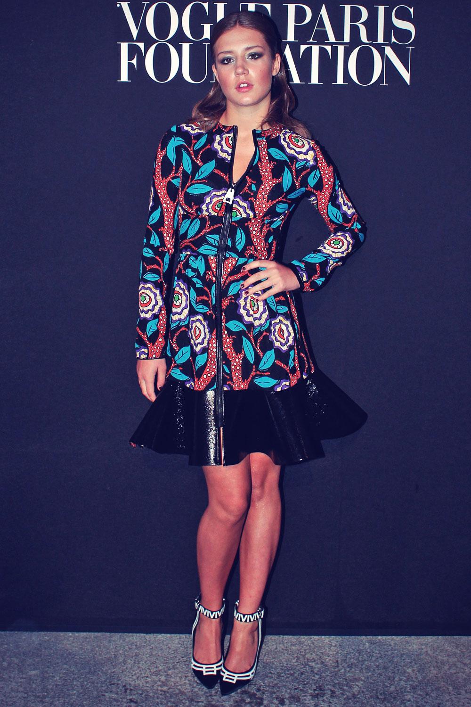 Adele Exarchopoulos attends Vogue Party Paris