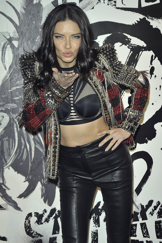 Adriana Lima attends Victoria Secret Fashion Show