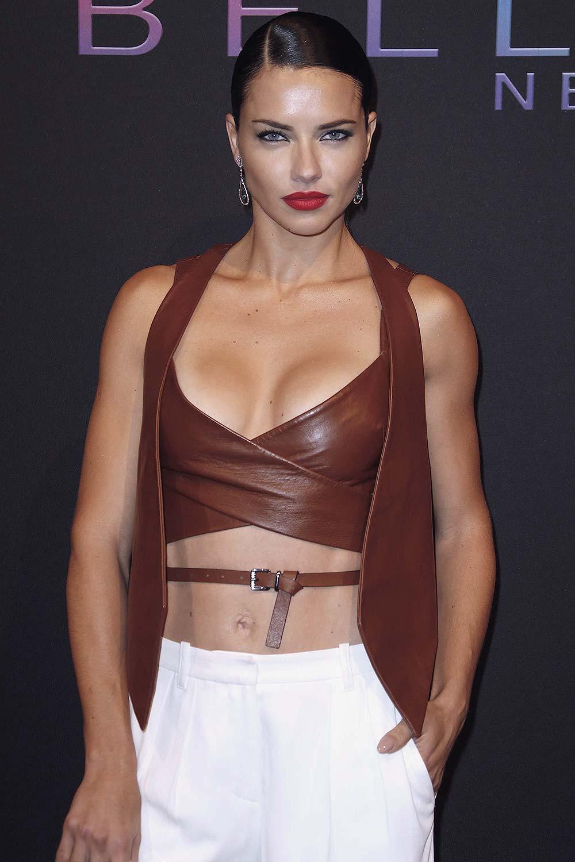 Adriana Lima attends Maybelline New York Celebrates NYFW