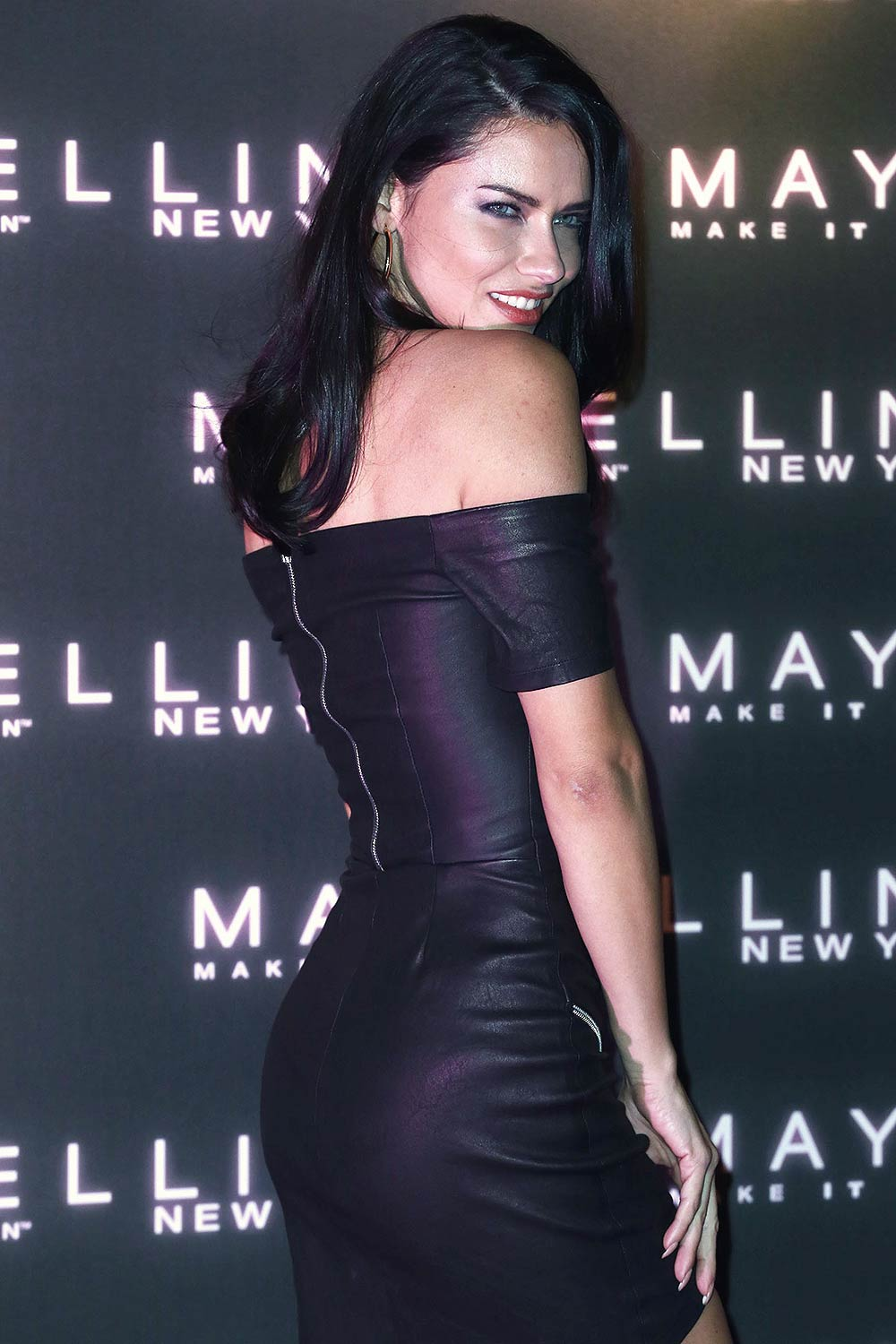 Adriana Lima attends Maybelline Bring on the Night Party