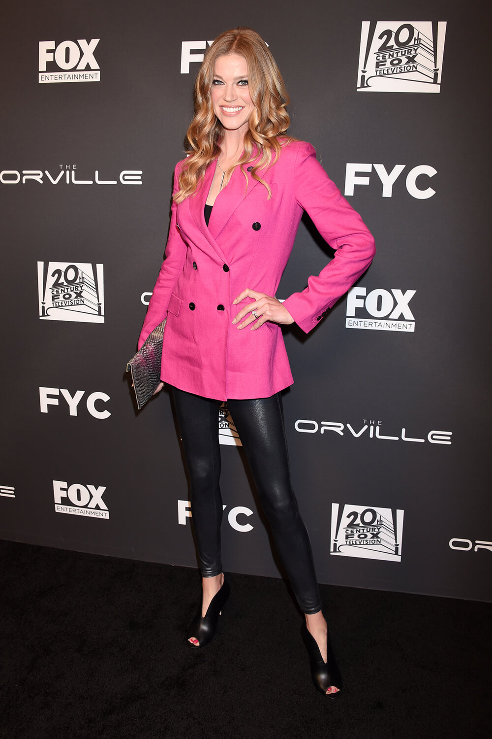 Adrianne Palicki attends The Orville TV Show photocall, Los Angeles 24.04.2019