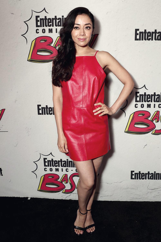 Aimee Garcia attends EW Party