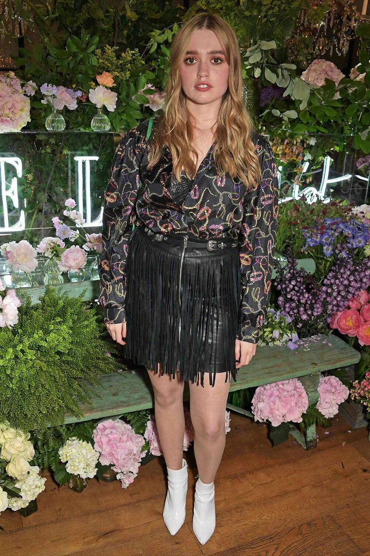 Aimee Lou Wood attends Celebrates The ELLE List