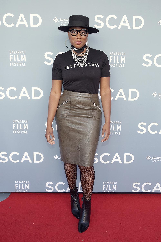 Aisha Hinds attends the 19th Annual Savannah Film Festival