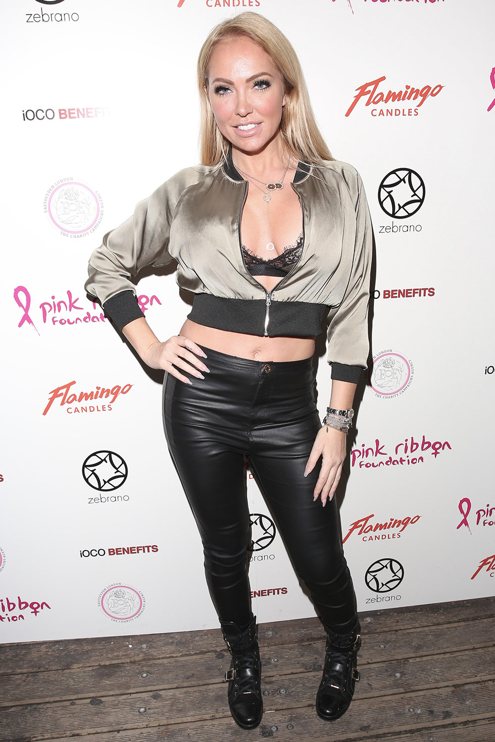 Aisleyne Horgan Wallace attends the annual Pink