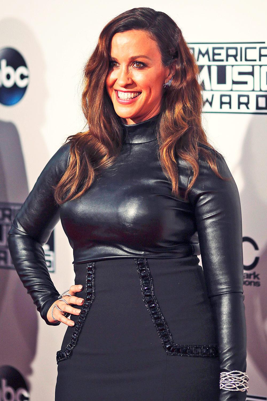 Alanis Morissette attends 2015 American Music Awards