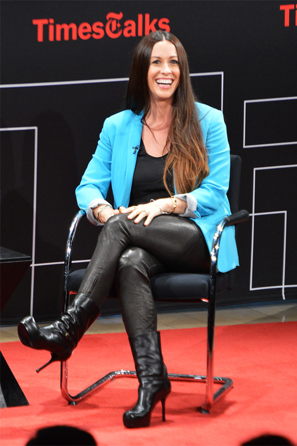 Alanis Morissette at TimesTalks An Evening