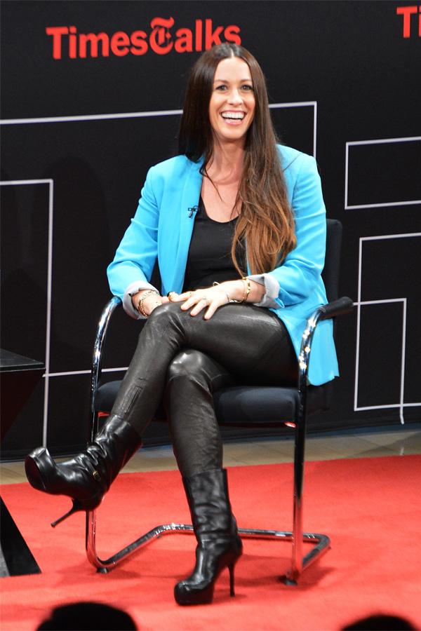 Alanis Morissette at TimesTalks An Evening