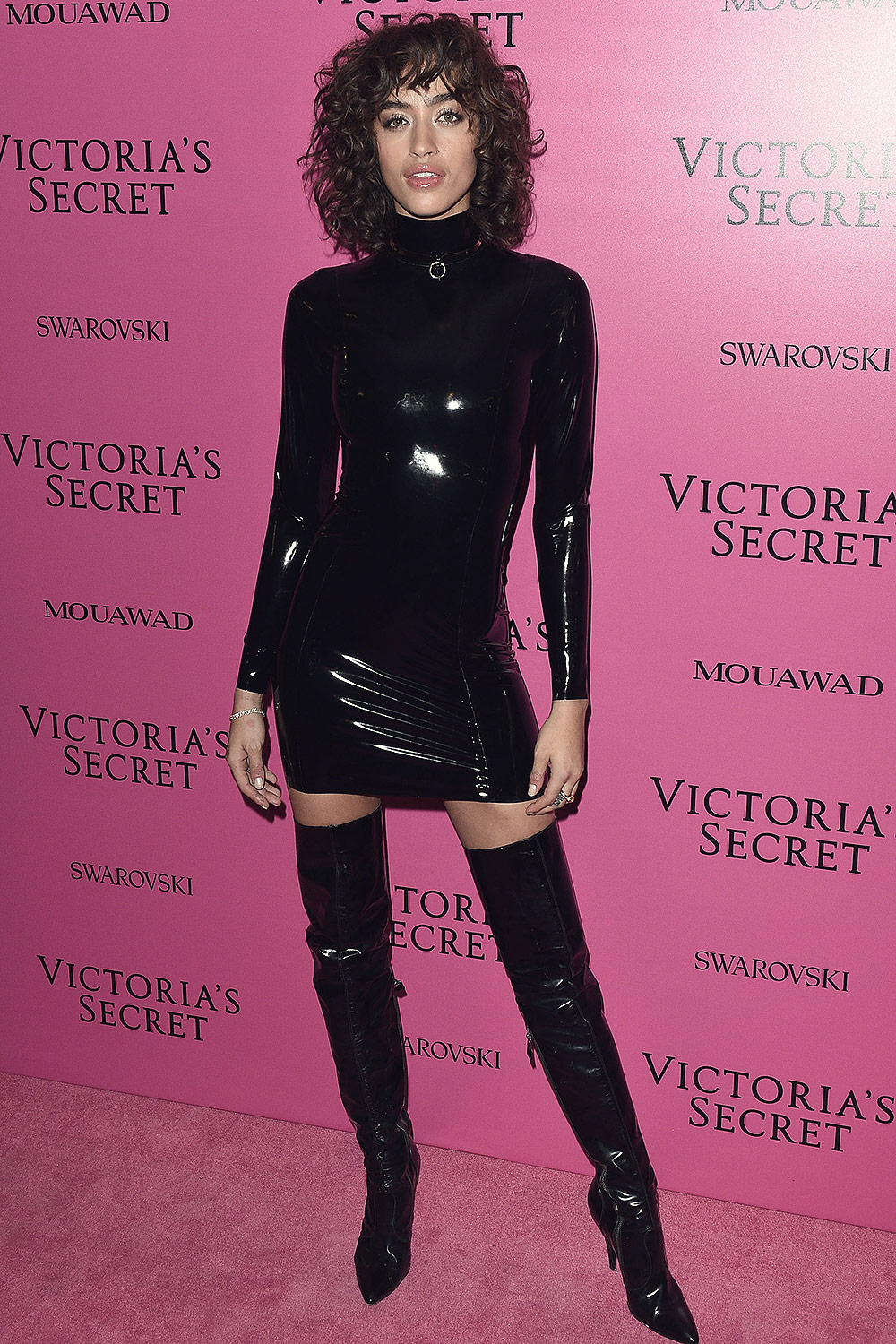 Alanna Arrington Attends Victoria S Secret Fashion Show