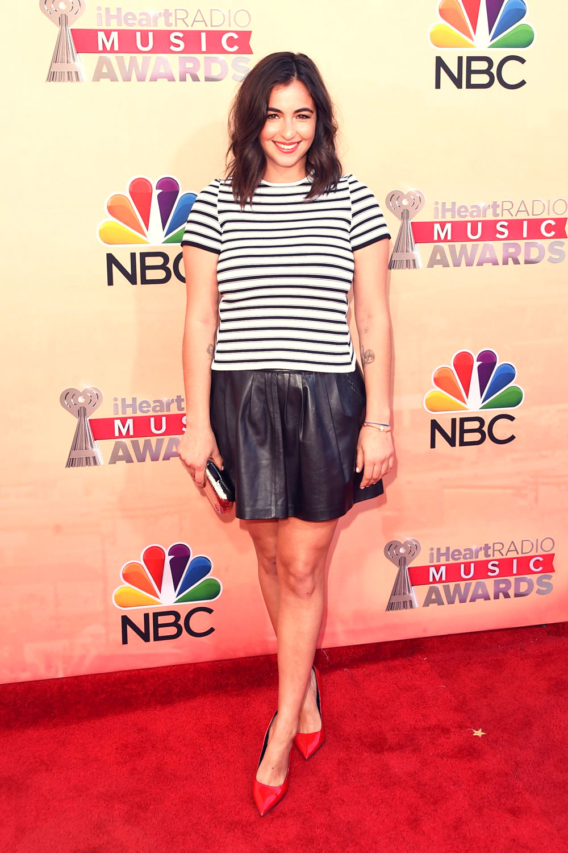 Alanna Masterson attends 2015 iHeartRadio Music Awards