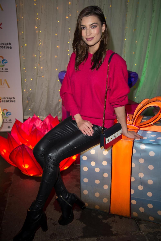 Albina Kireeva attends Lightopia VIP Launch