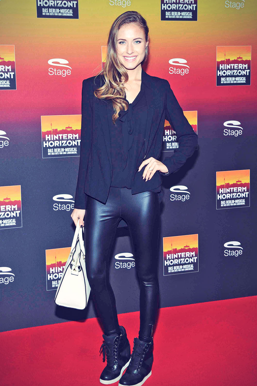 Alena Gerber attends HINTERM HORIZON Birthday