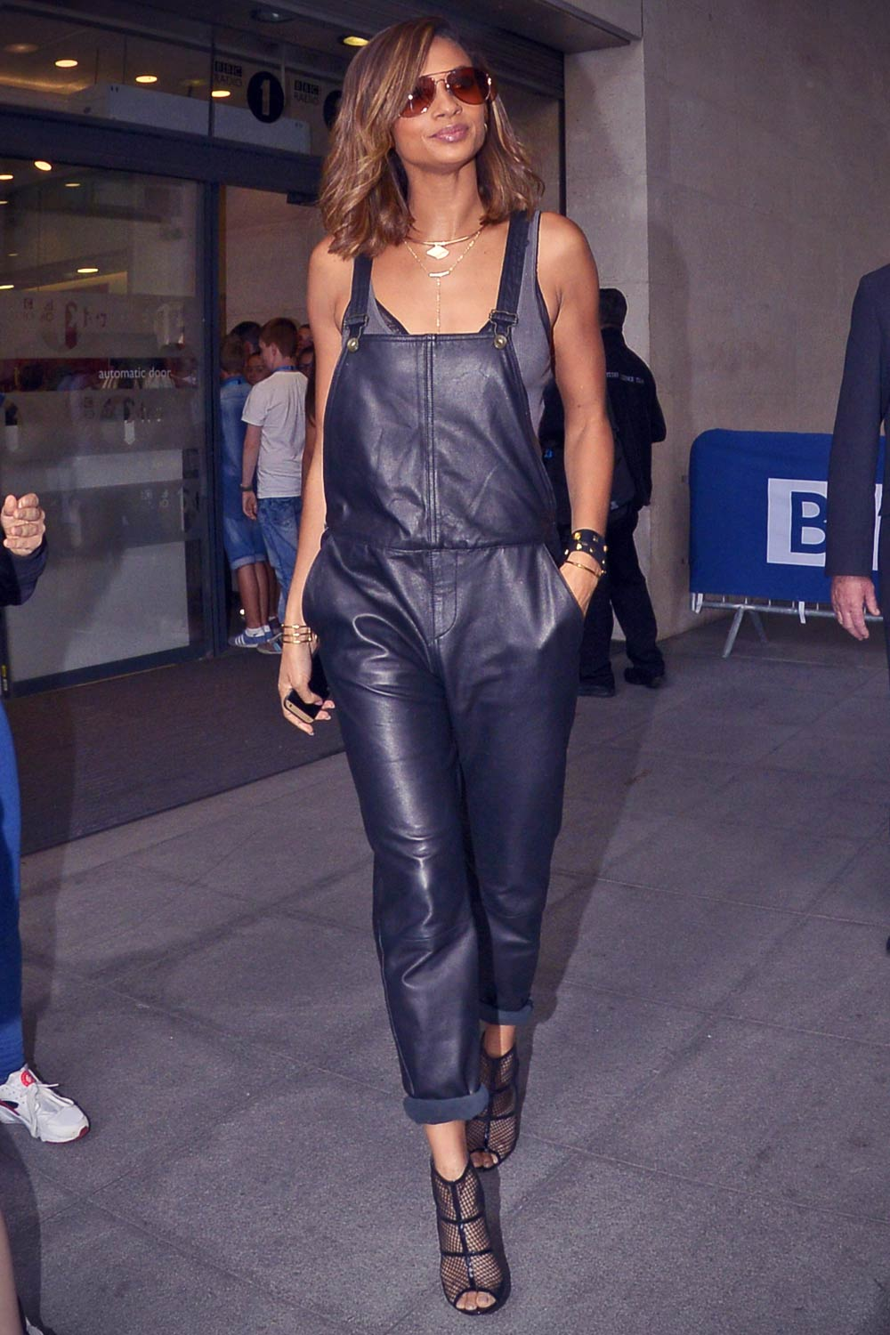 Alesha Dixon at BBC Radio One studios