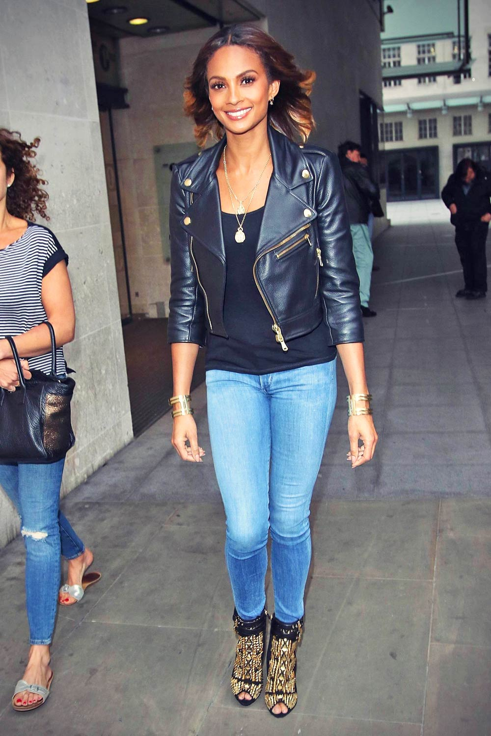 Alesha Dixon at Radio One Xtra