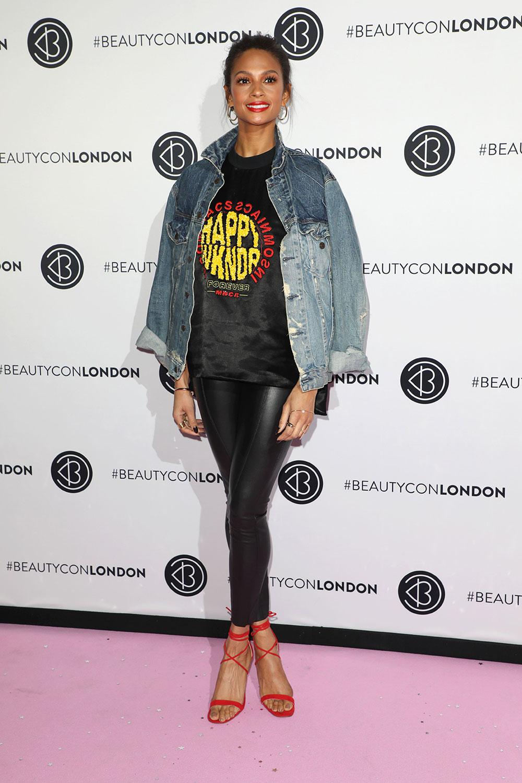 Alesha Dixon attends Beautycon