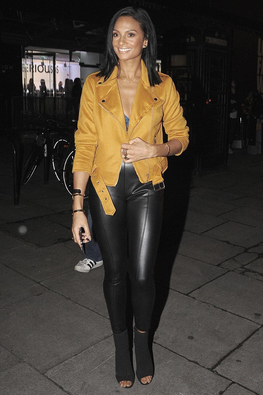 Alesha Dixon attends Fashion Council London Fashion Week Launch Party