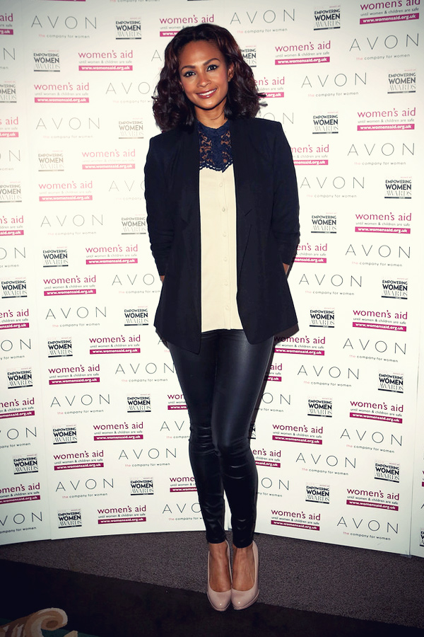 Alesha Dixon attends the star-studded 2012 Empowering Women Awards