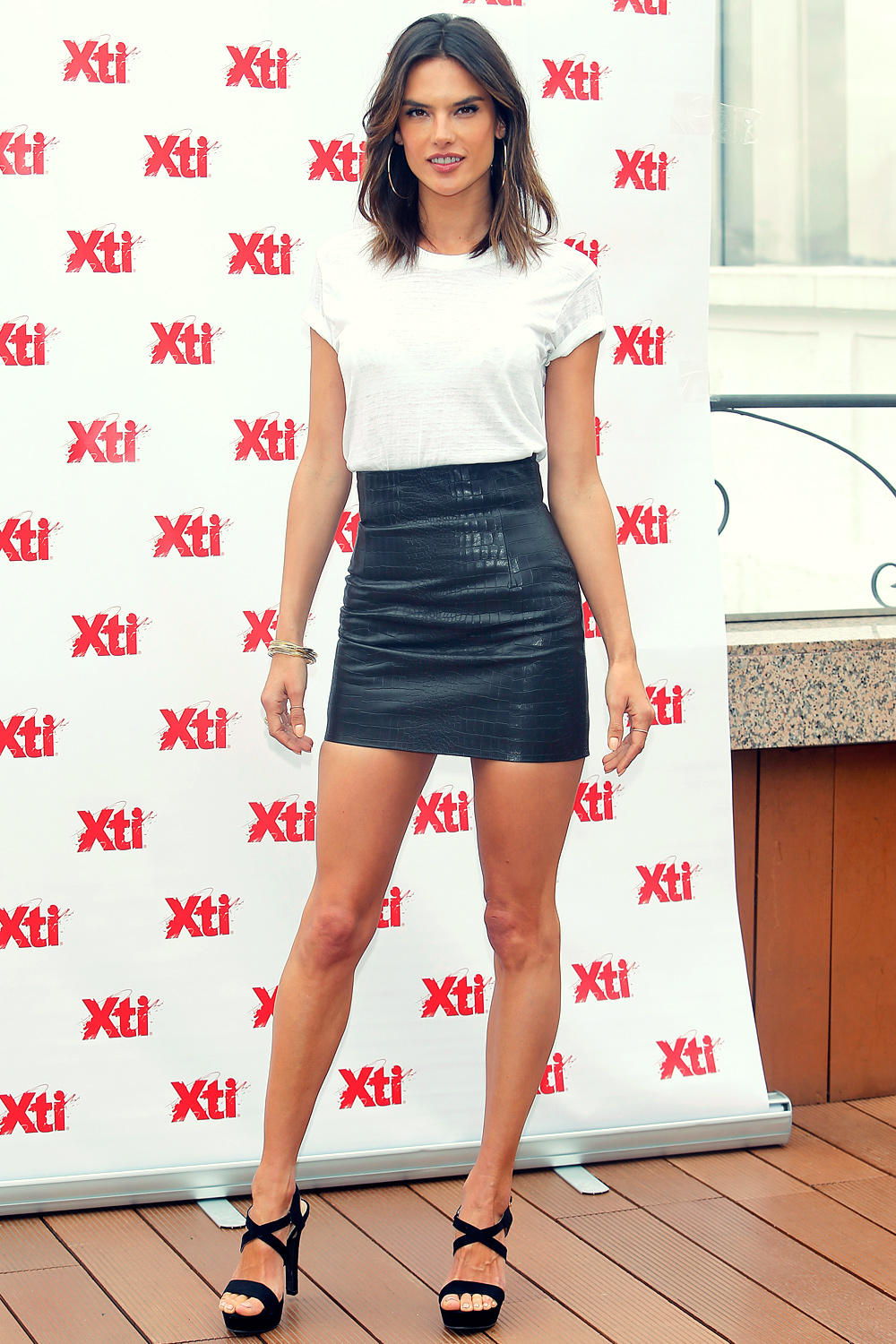 Alessandra Ambrosio attends XTI New Collection