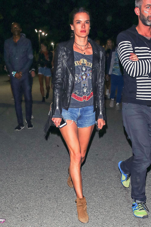 Alessandra Ambrosio attends Neon Carnival