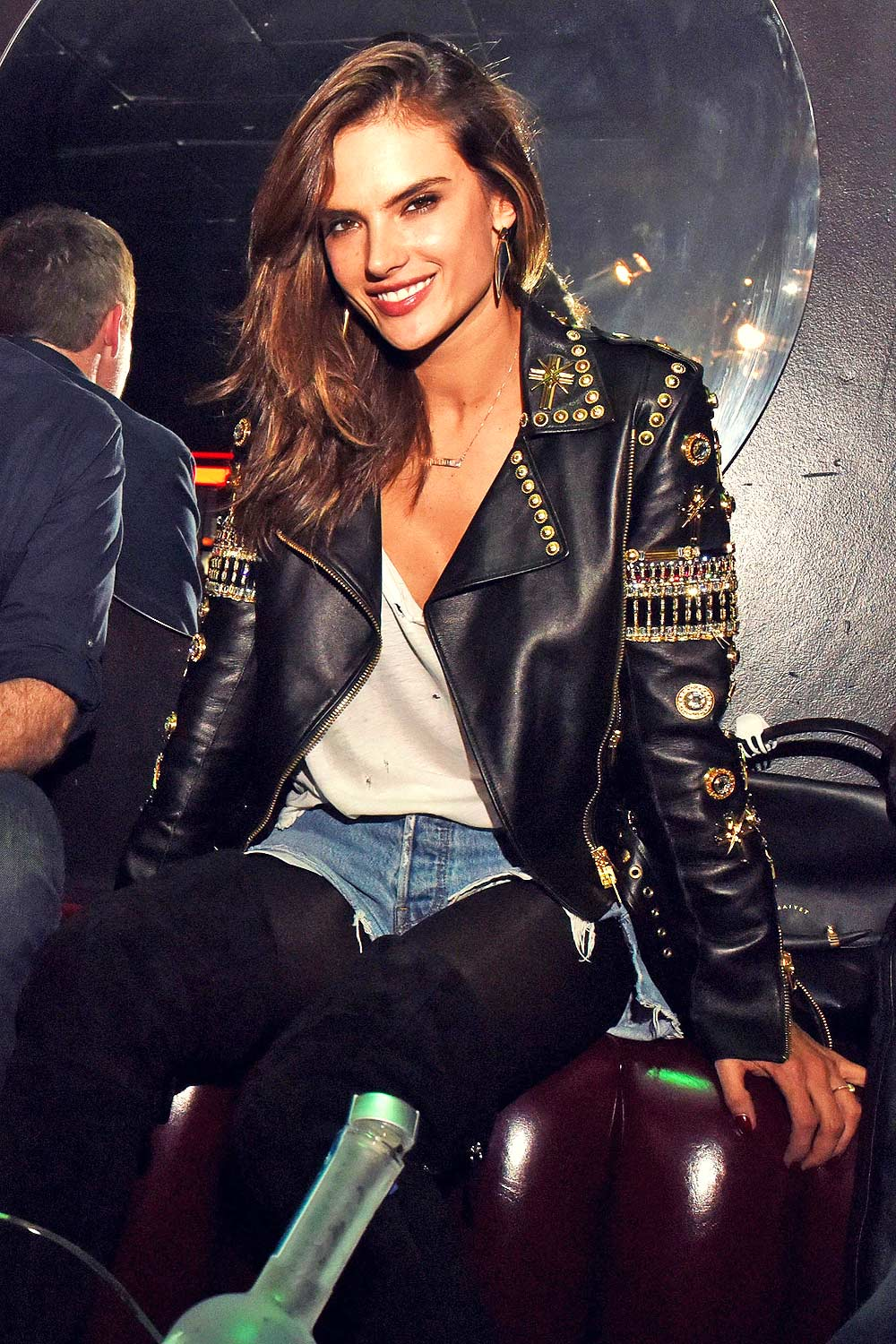 Alessandra Ambrosio attends The Official Viper Room Re-Launch Party