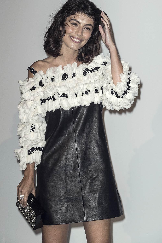 Alessandra Mastronardi attends Culture CHANEL exhibition opening