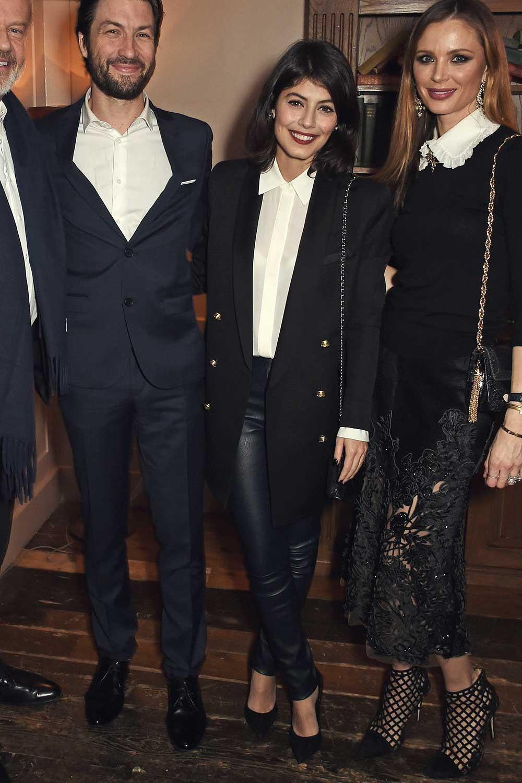 Alessandra Mastronardi attends a VIP screening of 'Lion'