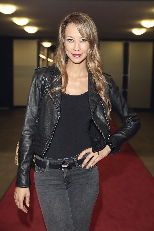 ... Alessandra Meyer Woelden seen after the German TV show Let's Dance