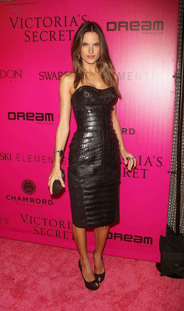 Alessandra Ambrosio at Victoria's Secret Fashion Show After Party