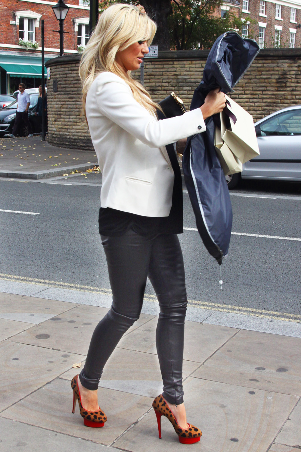 Alex Curran at Sheree Murphy's leaving party