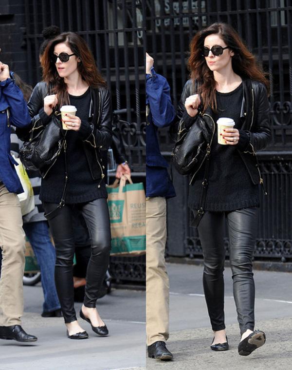 Alexandra Edenborough in the West Village