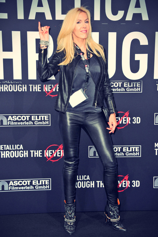 Alexandra Klim attends Premiere of METALLICA