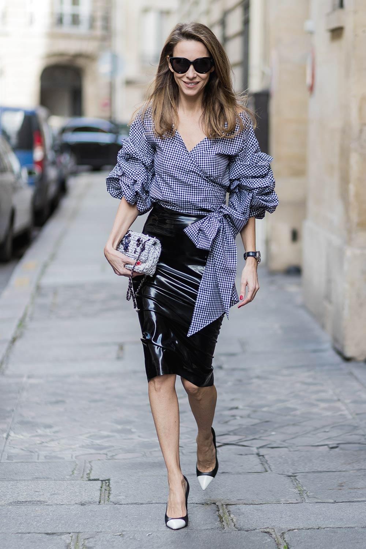 Alexandra Lapp street style in Paris #3