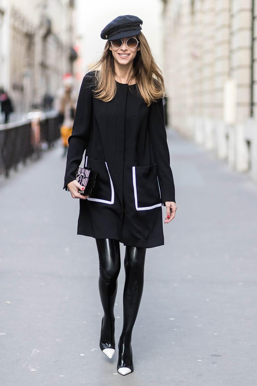 Alexandra Lapp street style in Paris #1