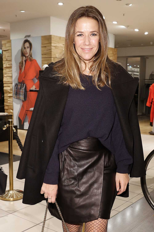 Alexandra Neldel attends the KaDeWe Berlin Celebrates Redesign