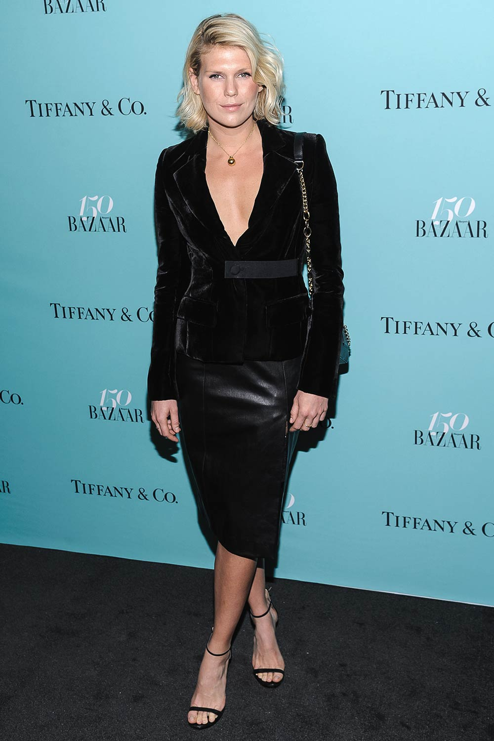 Alexandra Richards attends the 150th anniversary of Harper's Bazaar
