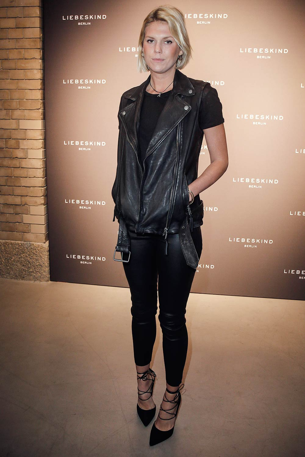 Alexandra Richards attends the Liebeskind Berlin housewarming party