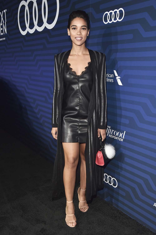 Alexandra Shipp attends The Hollywood Reporter's Next Gen 2016 Celebration