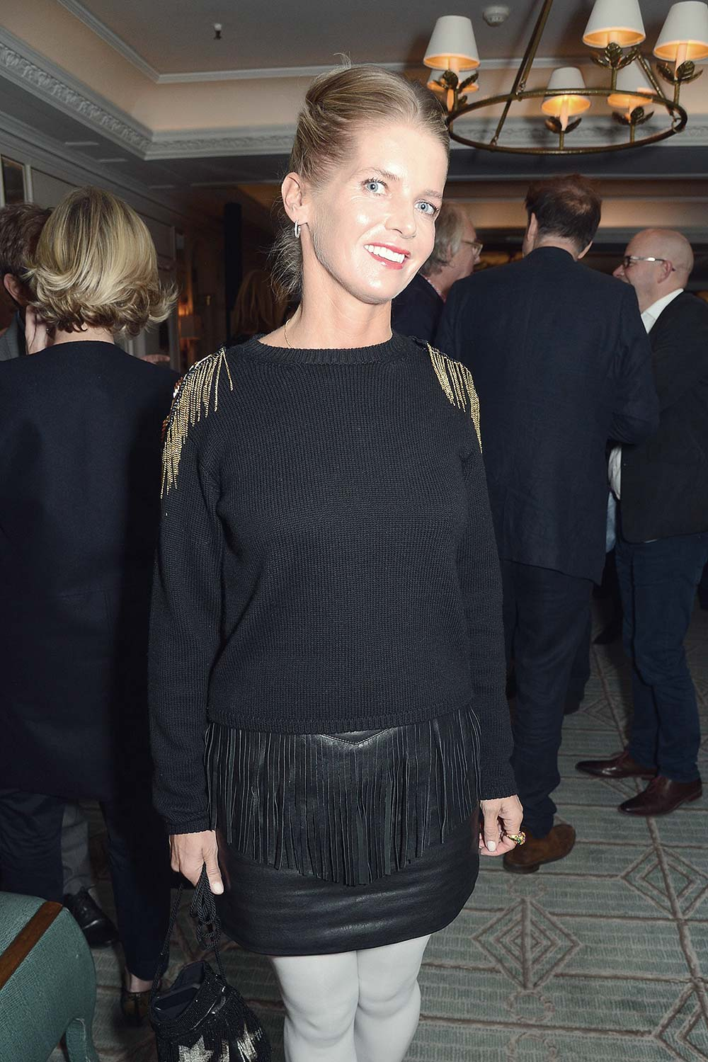Alexandra Tolstoy at Launch of The Cook Book by Parker Bowles