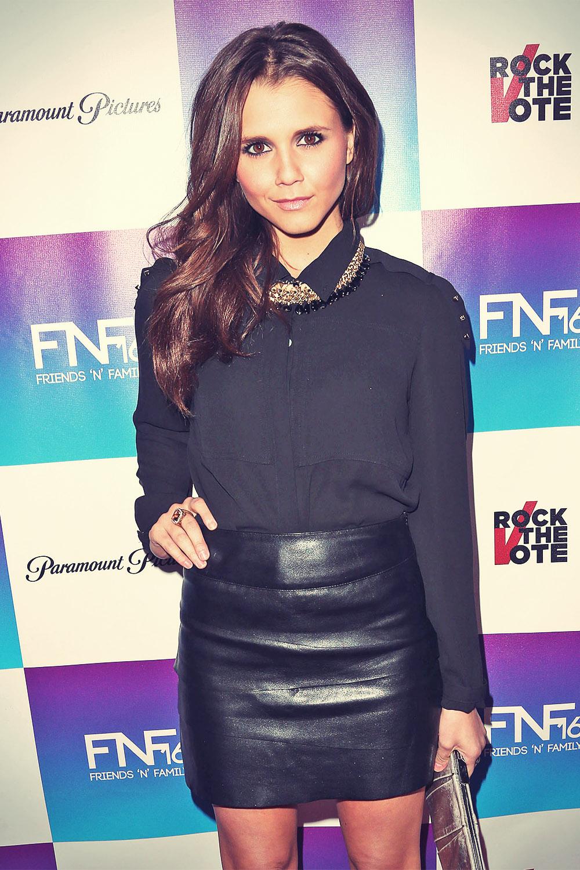 Alexandra Chando attends 16th annual Friends N Family Pre-Grammy