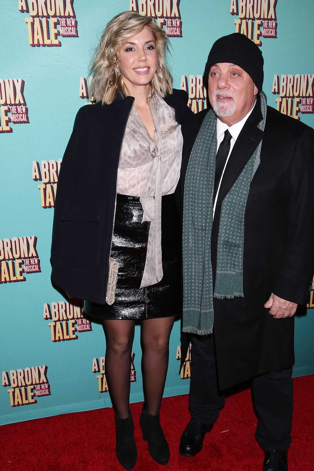 Alexis Roderick opening night of A Bronx Tale