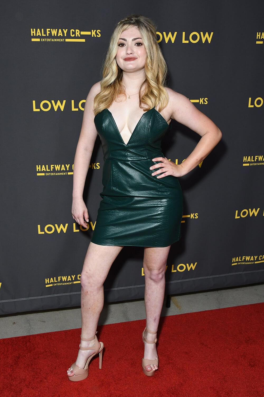 Alexis Raich attends Low Low film premiere