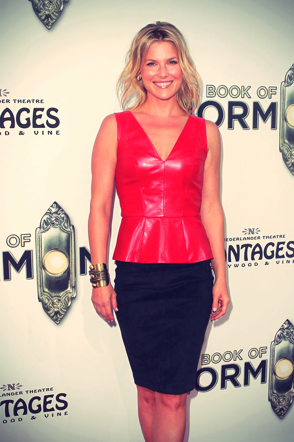 Ali Larter attends the Premiere of The Book Of Mormon