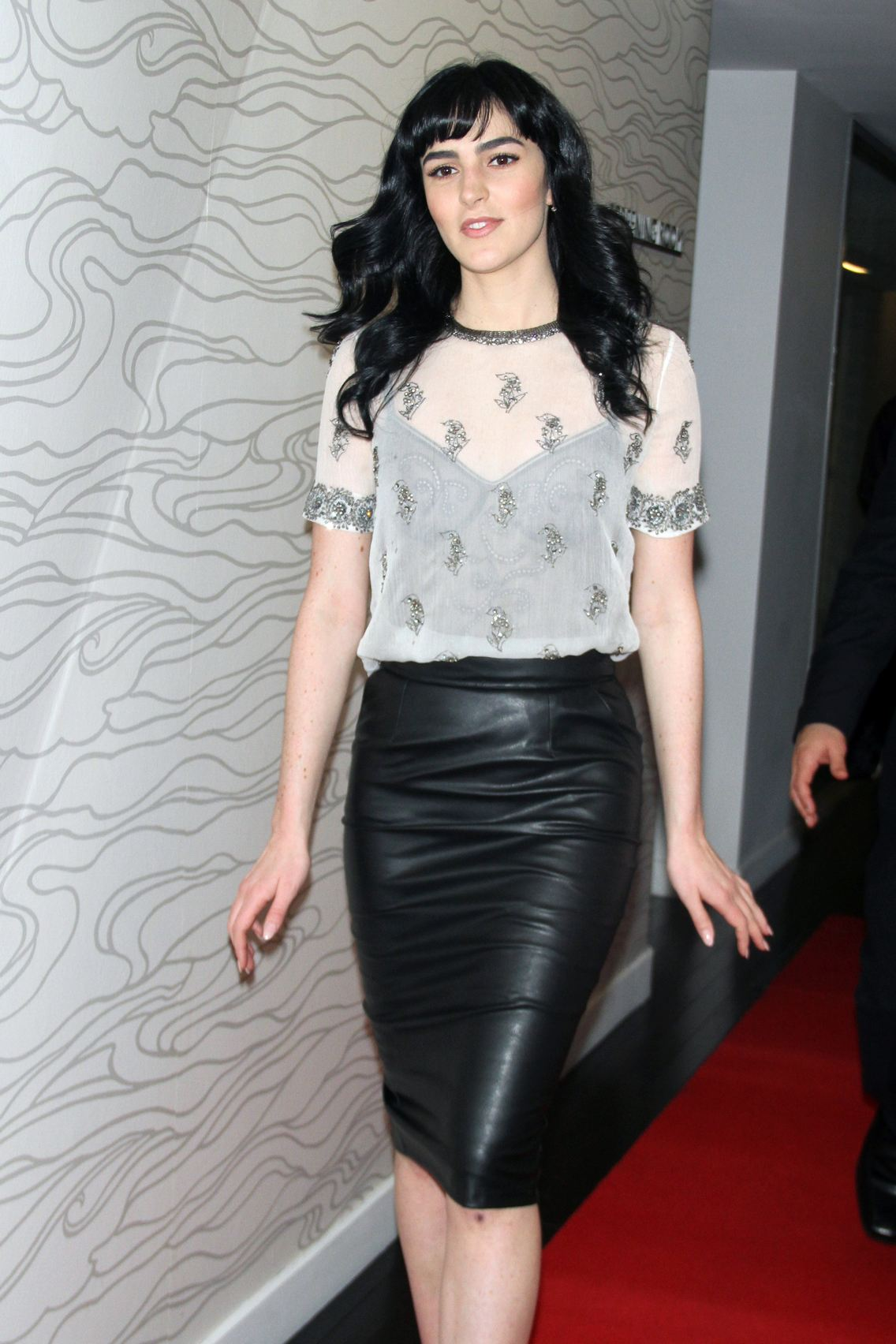 Ali Lohan hit the red carpet at the TNG Holiday Launch Celebration