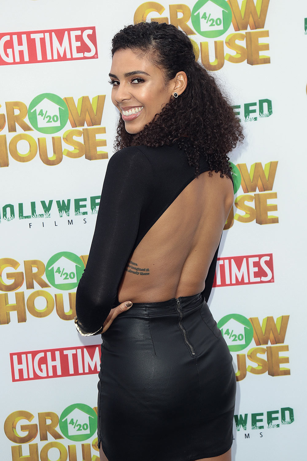 Alice Hunter at the world premiere of 'Grow House'