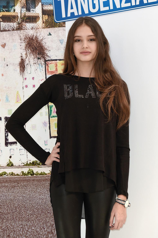 Alice Maselli attends Photocall of the movie Come un gatto in tangenziale