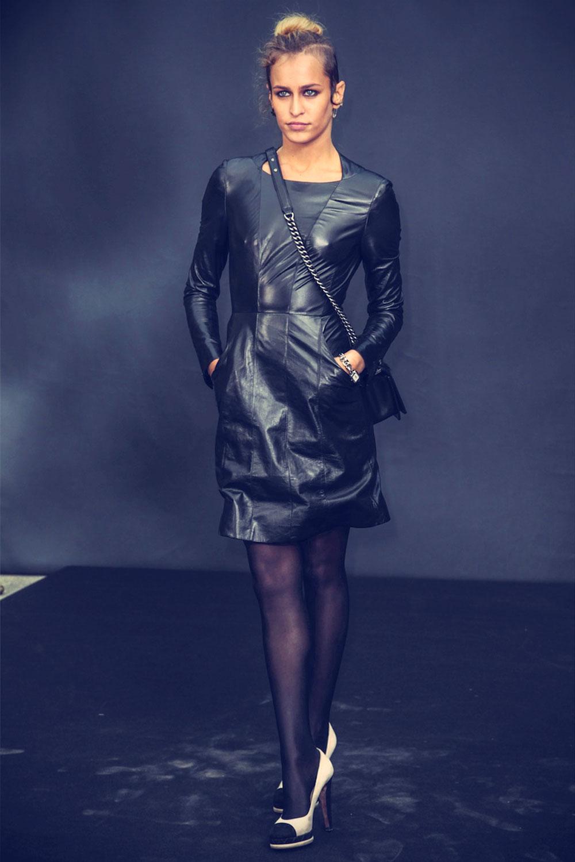 Alice Dellal attends the Chanel Fall Winter 2013