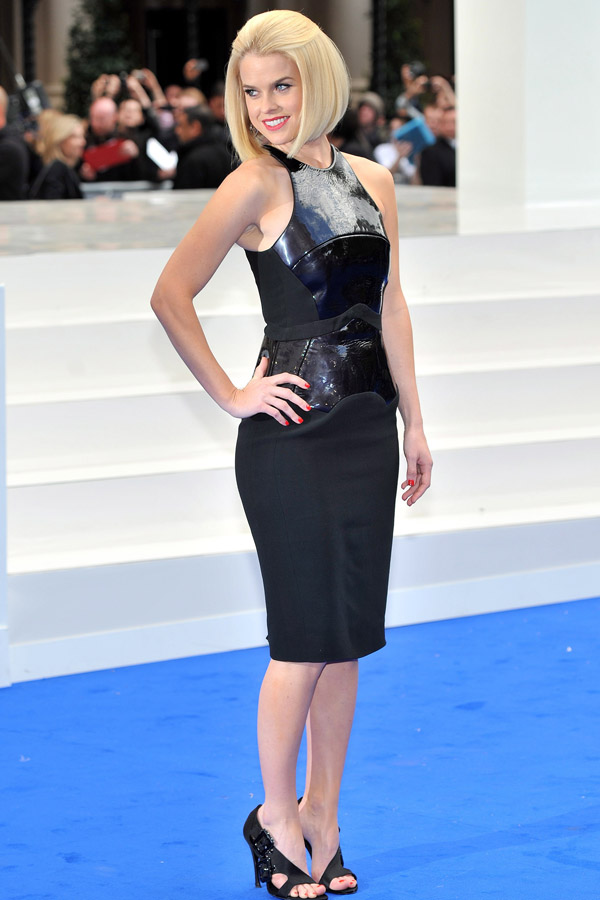 Alice Eve at Men in Black 3 UK premiere